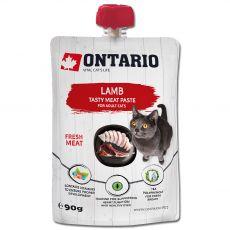 Ontario Cat lamb tasty meat paste 90 g