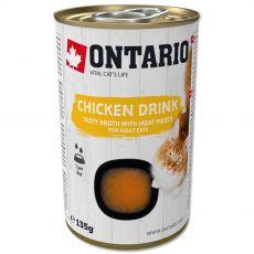 Ontario Cat chicken drink 135 g