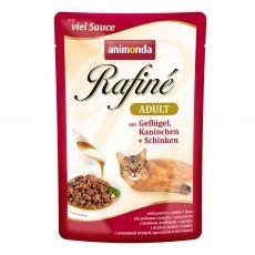 Animonda Rafiné Cat drůbež, králík a šunka 100 g