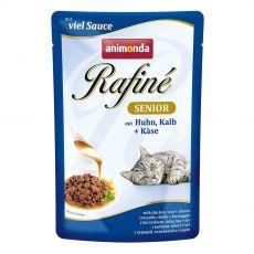 Animonda Rafiné Senior Cat kuře, telecí a sýr 100 g