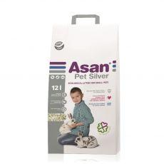 Asan Pet Silver podestýlka pro hlodavce a králíky 12 l