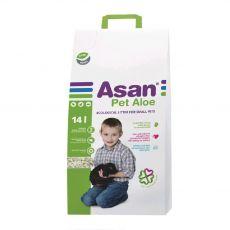 Asan Pet Aloe podestýlka pro hlodavce 14 l