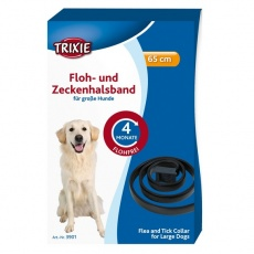 Antiparazitní obojek pro psa - 65 cm - černý