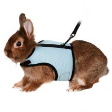 Vodítko a postroj pro králíky - suchý zip