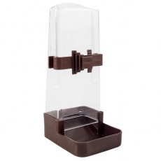 Zásobník na vodu a krmivo pro ptáky - hranatý, 200 ml