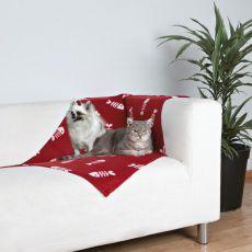 Deka pro kočky a psy - fishbone