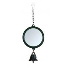 Zrcadlo se zvonečkem pro ptáčky, 5,5 cm
