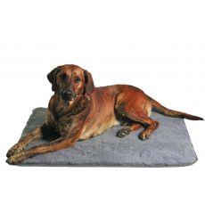 Lehadlo pro psy šedé - 100 × 75 cm