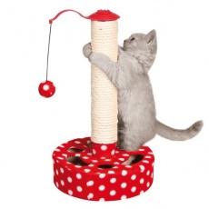 Drápadlo pro kočky s hračkou