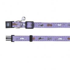 Obojek pro kočky, fialový - koťátka - 18–30 cm