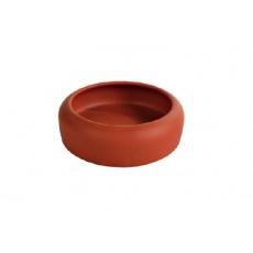 Miska pro křečka keramická, se zaobleným okrajem - 125 ml