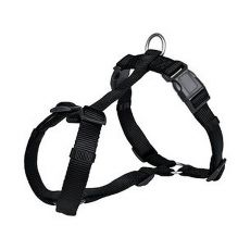 Postroj pro psy, černý - XS - S, 30 - 40 cm