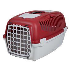 Přepravka pro psa do 12 kg - červená