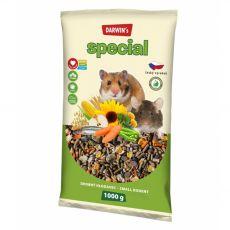 Darwin's Special krmivo pro drobné hlodavce 1 kg