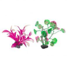 TETRA Plantastics XS rostliny růžové 6 ks