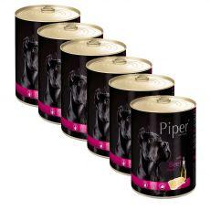 Konzerva Piper Adult s hovězími dršťkami 6 x 400 g