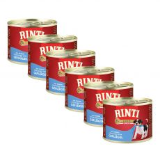 Konzerva Rinti Gold Junior drůbež 6 x 185 g