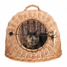 Proutěný pelech pro kočky - 45 cm