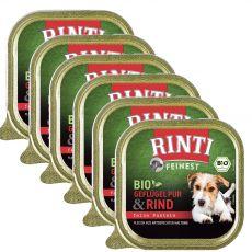 Vanička RINTI Bio hovězí 6 x 150 g