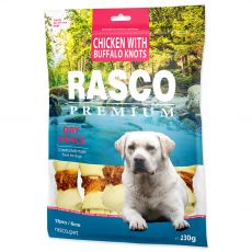 Rasco Premium Dry Snack Chicken With Buffalo Knots 230 g