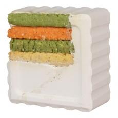Vitaminový blok pro králíky a morčata - kukuřice, 80 g