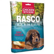 RASCO PREMIUM kosti obalené kuřecím masem 230 g