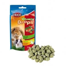 Pamlsek pro králíka - zeleninové dropsy, 75 g