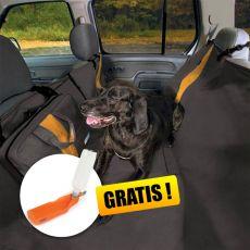 Ochranný potah na zadní sedadla Kurgo Wander Hammock – typ hamaka černý