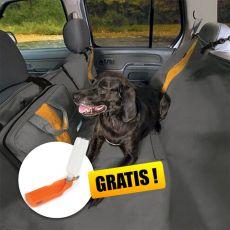 Ochranný potah na zadní sedadla Kurgo Wander Hammock – typ hamaka šedý