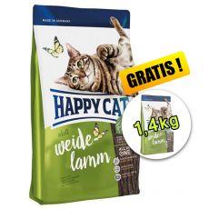 Happy Cat Supreme Adult Weide-Lamm, 1,4 kg