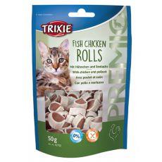Pamlsek pro kočku - kuře, treska, 50 g