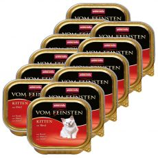 Animonda Vom Feinsten Kitten – hovězí 12 x 100 g