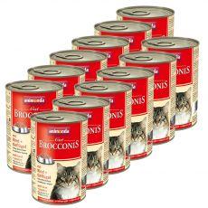 Animonda Cat BROCCONIS hovězí a drůbež 12 x 400 g