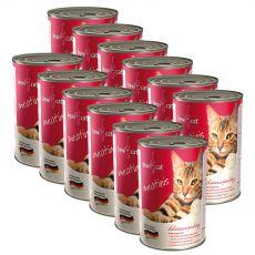 Konzerva BEWI CAT Meatinis DRŮBEŽ 12 x 400 g