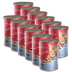 Konzerva BEWI CAT Meatinis SALMON 12 x 400 g