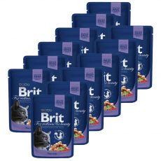 Kapsička BRIT Premium Cat Cod Fish 12 x 100 g