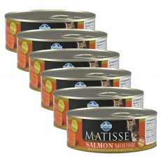 Farmina MATISSE cat Salmon 6 x 85 g, 5+1 GRATIS