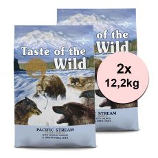TASTE OF THE WILD Pacific Stream Canine 2 x 12,2 kg