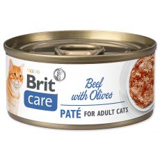 Brit Care Cat Beef with Olives 70 g