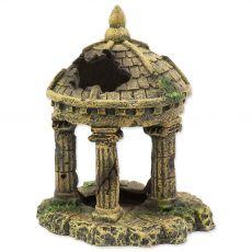 Dekorace AQUA EXCELLENT Zřícenina hradu 10,4 x 9,2 x 12,7 cm