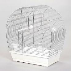 Klec pro papouška TINA chrom - 51 x 28 x 55 cm
