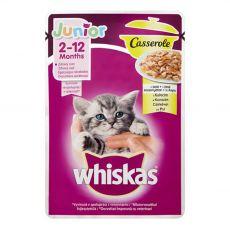 Whiskas Casserole Junior kuřecí kapsička 85 g