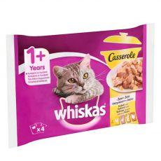 Whiskas Casserole Drůbeží výběr v želé 4 x 85 g