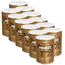 LOUIE Hovězí a vepřové s rýží 12 x 400 g