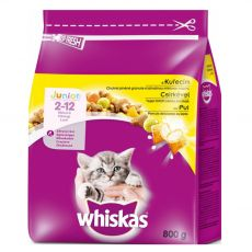 Whiskas Junior kuřecí 800 g