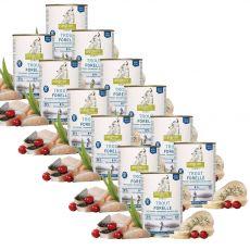 ISEGRIM Adult River: Pstruh s pastinákem a brusinkami 12 x 400 g