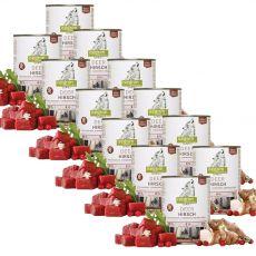ISEGRIM Adult Forest: Jelen s topinambury, brusinkami a bylinkami 12 x 800 g