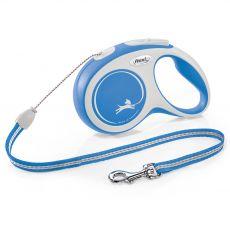 Flexi NEW COMFORT vodítko S do 12 kg, 8m lanko – modré