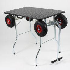Stůl skládací – trimovací s terénními koly 100 x 60 cm