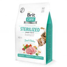 Brit Care Cat Grain-Free Sterilized Urinary Health 2 kg